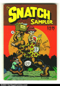 Bronze Age (1970-1979):Alternative/Underground, The Snatch Sampler nn (Apex Novelties, 1977) Condition = FN-. This first print edition features work by Robert Crumb, Spain ...