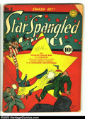 Golden Age (1938-1955):Superhero, Star Spangled Comics #3 (DC, 1941) Condition: GD. Hal Sherman cover. Overstreet 2003 GD 2.0 value = $109. ...