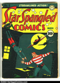 Golden Age (1938-1955):Superhero, Star Spangled Comics #6 (DC, 1942) Condition: GD/VG. Sherman cover. Overstreet 2003 GD 2.0 value = $64; VG 4.0 value = $128....