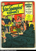 Golden Age (1938-1955):Superhero, Star Spangled Comics #16 (DC, 1943) Condition: GD. Simon and Kirby cover and art. Overstreet 2003 GD 2.0 value = $127. ...