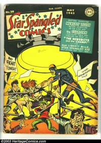 Star Spangled Comics #20 (DC, 1943) Condition: GD. Simon and Kirby cover and art. Liberty Belle begins. Overstreet 2003...