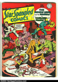 Golden Age (1938-1955):Superhero, Star Spangled Comics #29 (DC, 1944) Condition: GD. Simon and Kirby cover and art. Intro Robbie the Robotdog. Cover detached....