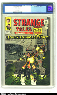 Strange Tales #138 (Marvel, 1965) CGC NM- 9.2 Off-white pages. John Severin and Steve Ditko art. Overstreet 2003 NM 9.4...