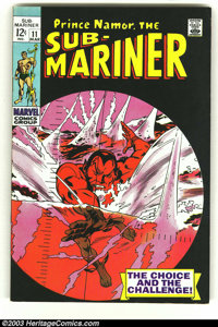 The Sub-Mariner LOT (Marvel, 1968) Condition: average VF/NM. This lot contains issues #11, 15-17, 21-23, 25, 26 and King...