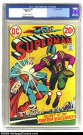 Bronze Age (1970-1979):Superhero, Superman #264 (DC, 1973) CGC NM 9.4 Off-white to white pages. Curt Swan and Murphy Anderson artwork. Overstreet 2003 NM 9.4 ...