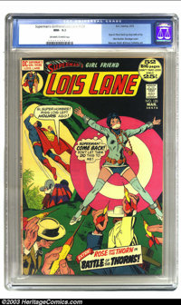 Superman's Girl Friend Lois Lane #120 (DC, 1972) CGC NM- 9.2 Off-white to white pages. Superman and Lois Lane cover; Ros...