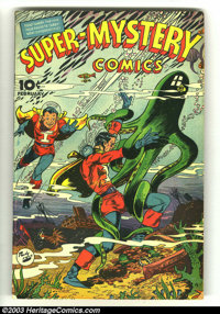 Super-Mystery Comics v5 #4 (Ace, 1946) Condition: VG. Overstreet 2003 VG 4.0 value = $66
