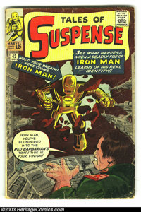 Tales of Suspense Lot (Marvel, 1960s) Condition: average VG. Cool group lot of Silver Age Marvels, containing many of Ir...
