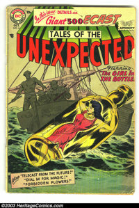 Tales of the Unexpected lot (DC, 1958) Condition: average VG. Issues 6, 48, 51, 52, 54, 57. Overstreet 2003 value for gr...