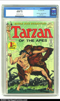 Tarzan of the Apes #207 (DC, 1972) CGC NM/MT 9.8 Off-white to white pages. First DC issue; 52 pages; origin of John Cart...