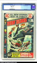 Bronze Age (1970-1979):Superhero, Teen Titans #40 (DC, 1972) CGC NM+ 9.6 Off-white pages. Beautiful Nick Cardy cover on this high-grade beauty. Overstreet 200...