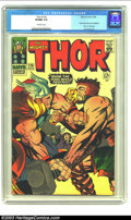 Silver Age (1956-1969):Superhero, Thor #126 (Marvel, 1966) CGC VF/NM 9.0 Off-white pages. Previously Journey Into Mystery; Thor vs. Hercules; Jack Kirby art. ...