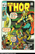 Silver Age (1956-1969):Superhero, Thor Lot of #181-186 complete (Marvel, 1970) Condition: average VF/NM. Here is a really beautiful set of books in almost unh... (Total: 6 Comic Books Item)