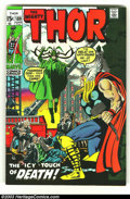 Silver Age (1956-1969):Superhero, Thor Lot (Marvel, 1970) Condition: average VF/NM. Here is a really beautiful set of books in almost unheard of condition. Is... (Total: 7 Comic Books Item)
