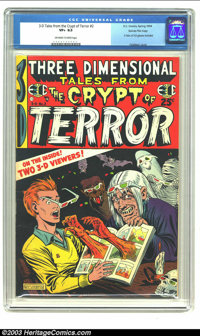 Three Dimensional Tales from the Crypt of Terror #2 Gaines File pedigree 9/12 (EC, 1954) CGC VF+ 8.5 Off-white to white...