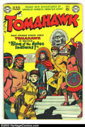 Golden Age (1938-1955):Adventure, Tomahawk #6 (DC, 1951) Condition: VG. Great-looking early issue. Overstreet 2003 VG 4.0 value = $66....