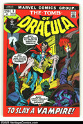 Bronze Age (1970-1979):Horror, Tomb of Dracula lot of #5-7 (Marvel, 1972) Condition: VF/NM. Here is a really beautiful set of books in almost unheard of co... (Total: 3 Comic Books Item)