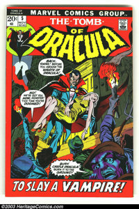 Tomb of Dracula lot of #5-7 (Marvel, 1972) Condition: VF/NM. Here is a really beautiful set of books in almost unheard o...