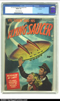 Golden Age (1938-1955):Science Fiction, Vic Torry & His Flying Saucer #nn Rockford pedigree (Fawcett,1950) CGC FN/VF 7.0 Cream to off-white pages. Bob Powell art; ...