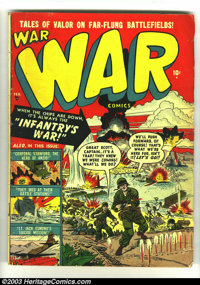 War Comics #2 - #4(Atlas, 1951) Condition: GD/VG. Overstreet value for group = $72. ... (Total: 3 Comic Books Item)