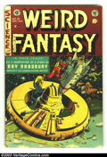 Golden Age (1938-1955):Science Fiction, Weird Fantasy #18 (EC, 1953) Condition: FN. Art by Williamson,Krenkel and Feldstein. Overstreet 2003 FN 6.0 value = $90....