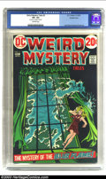 "Bronze Age (1970-1979):Horror, Weird Mystery Tales #3 Double Cover (DC, 1972) CGC VF+ 8.5Off-white pages. CGC notes: ""first cover 6.5, interior cover8.5""..."