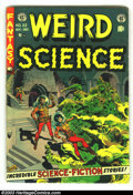 Golden Age (1938-1955):Horror, Weird Science #22 (EC, 1953) Condition: VG-. Cool Pre-code horror.Last issue. Art by Williamson, Frazetta, Krenkel, Krigste...
