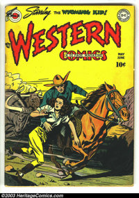 Western Comics #3 (DC, 1948) Condition: VG. Carmine Infantino, Mort Meskin, and Howard Post art. Overstreet 2003 VG valu...