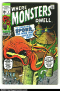 Bronze Age (1970-1979):Horror, Where Monsters Dwell lot (Marvel, 1971) Condition: average VF/NM. Here is a really beautiful set of books in almost unheard ... (Total: 13 Comic Books Item)