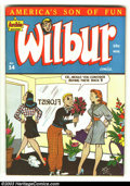 Golden Age (1938-1955):Humor, Wilbur Comics #14 (MLJ Magazines/Archie Publications, 1947) Condition: VF. Al Fagaly cover. Katy Keene appearance. Only thre...