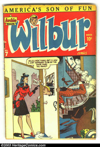 Wilbur Comics Early Issues Group (MLJ Magazines/Archie Publications, 1945). This Golden Age group includes issues #7 (VG...