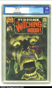Witching Hour #13 (DC, 1971) CGC NM+ 9.6 Cream to off-white pages. Neal Adams cover and art. Overstreet 2003 NM 9.4 valu...