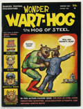 Wonder Wart-Hog #1 First Print (Millar Publishing, 1967) Condition = FN+. Fearless, fighting, foulmouthed...it's Wonder...