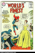 Silver Age (1956-1969):Superhero, World's Finest Comics #85 (DC, 1956) Condition: VG+. Nice, early Silver Age book with off-white pages and no tanning at all....