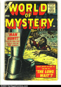 Golden Age (1938-1955):Horror, World of Mystery #1 (Atlas, 1956) Condition: GD/VG. Bill Everettcover, Torres, Orlando art. Overstreet 2003 GD 2.0 value = ...