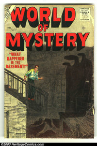 World of Mystery #4 (Atlas, 1956) Condition: VG-. Pakula, Powell artwork. Overstreet 2003 VG 4.0 value = $50