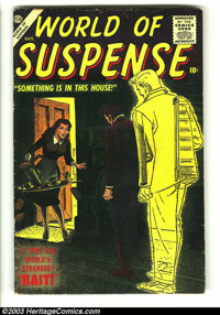 World of Suspense #4 (Atlas, 1956) Condition: VG. Overstreet 2003 VG 4.0 value = $40