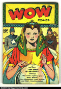 Golden Age (1938-1955):Superhero, Wow Comics #58 (Fawcett, 1947) Condition: VG+. Last Mary Marvel in this title; Commando Yank, Mr.Scarlet & Pinky, Phantom Ea...