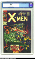 Silver Age (1956-1969):Superhero, X-Men #30 (Marvel, 1967) CGC VF 8.0 Off-white pages. Beautiful, high-grade book with a Jack Kirby cover. Overstreet 2003 VF ...