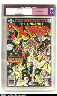 X-Men #130 (Marvel, 1980) CGC NM+ 9.6 White pages. First appearance of the Dazzler; Romita Jr. cover, Byrne art. Overstr...