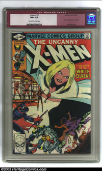 X-Men #131 (Marvel, 1980) CGC NM+ 9.6 Off-white to white pages. Second appearance of Dazzler; first White Queen cover; J...