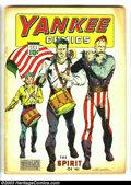 Golden Age (1938-1955):Superhero, Yankee Comics #2 (Chesler, 1941) Condition: GD/VG. Origin Johnny Rebel. Overstreet 2003 GD 2.0 value = $78; VG 4.0 value = $...