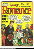 Young Romance Comics #6 (Prize, 1948) Condition: FN+ 6.5. Simon and Kirby cover and art. Robinson/Meskin art. Overstreet...
