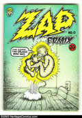 Silver Age (1956-1969):Alternative/Underground, Zap Comix #0 Second Print (Apex Novelties) Condition = FN/VF. Alongwith [b]Zap[/b] #1, this is the most important undergrou...