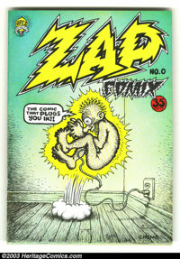 Zap Comix #0 Second Print (Apex Novelties) Condition = FN/VF. Along with [b]Zap[/b] #1, this is the most important under...