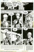 Original Comic Art:Panel Pages, Russ Heath - Original Art for Our Army at War #256, pages 1 and 8 (DC, 1973). Two outstanding pages from the seminal story i...