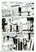 Original Comic Art:Panel Pages, Russ Heath - Original Art for Rocketeer Movie Adaptation, Lot of 4 pages (1991). Four more excellent pages from Russ Heath's...