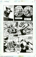Original Comic Art:Panel Pages, Russ Heath - Original Art for Legends of the Dark Knight #46, pages 21 and 23 (DC, 1993). Two exciting pages from this fast-...