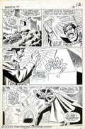 Original Comic Art:Panel Pages, John Romita - Original Art for Daredevil #14 (Marvel, 1965). With both halves of the priceless medallion now in his poss...