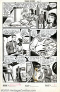 Original Comic Art:Panel Pages, Unknown Artist - Original Art for Strange Mysteries #4, page 9 (Story page 2) (Superior, 1952). Overstreet describes the art...
